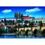 Puzzle  Dino-53150 Karlsbrücke, Prag
