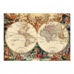 Puzzle  Dino-53185 Antike Weltkarte
