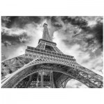 Puzzle  Dino-53247 Eiffelturm, Paris