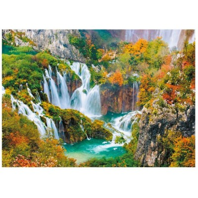 Puzzle  Dino-53257 Nationalpark Plitvicer Seen