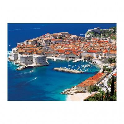 Puzzle Dino-53266 Dubrovnik, Kroatien