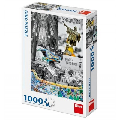 Puzzle Dino-53267 Barcelona, Spanien
