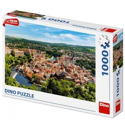 Puzzle  Dino-53268 Cesky Krumlov, Tschechische Republik