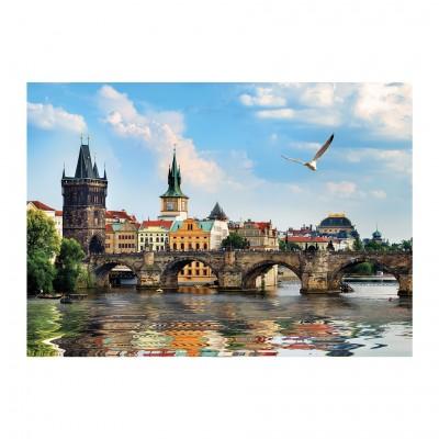 Puzzle  Dino-53273 Karlsbrücke, Prag