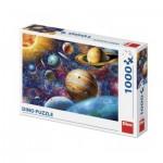 Puzzle  Dino-53275 Planeten