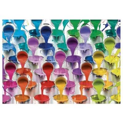 Puzzle Dino-53276 Farben