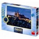 Dino-54116 Neon Puzzle - Prag