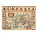Puzzle  Dino-56106 Antike Weltkarte