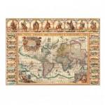 Puzzle  Dino-56115 Antike Weltkarte