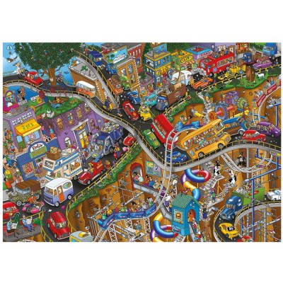 Puzzle  Dino-56310 Crazy Ride