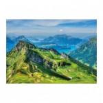 Puzzle  Dino-56313 Schweizer Berge
