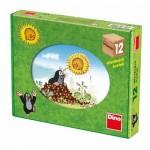 Dino-64106 Holz Würfelpuzzle - Der Maulwurf