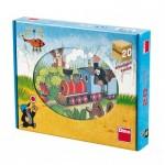 Dino-64205 Holz Würfelpuzzle - Der Maulwurf