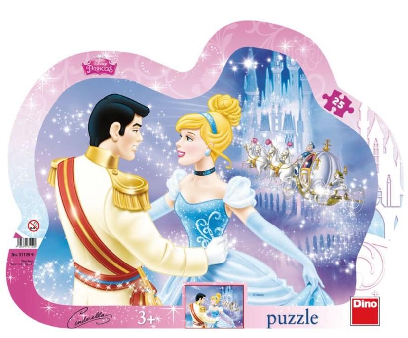 Rahmenpuzzle - Disney Princess Dino-31129 25 Teile Puzzle Prinzen ...