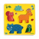 Djeco-01059 Holzpuzzle - Frimours