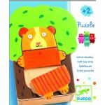 Puzzle  Djeco-01681 Kuscheliger Baum