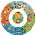 Puzzle  Djeco-07016 XXL Teile - Das Jahr