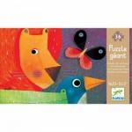Puzzle  Djeco-07171 Die Tierparade