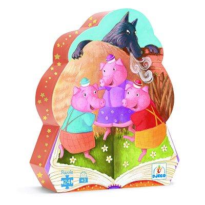 Puzzle  Djeco-07212 The Three Little Pigs