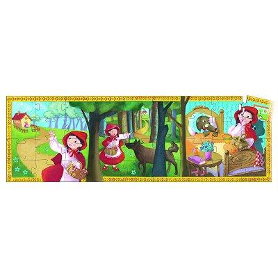 Puzzle  Djeco-07230 Rotkäppchen