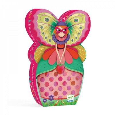 Puzzle  Djeco-07234 The Butterfly