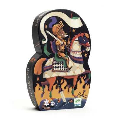Puzzle  Djeco-07235 Don Quichotte