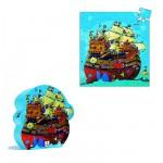 Puzzle  Djeco-07241 Barberousse Boot