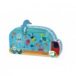 Puzzle  Djeco-07266 Das Aquarium