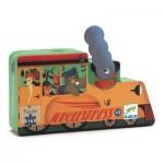 Puzzle  Djeco-07267 Die Lokomotive