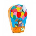 Puzzle  Djeco-07270 Der Heißluftballon