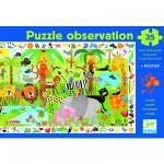 Puzzle  Djeco-07590 Der Dschungel
