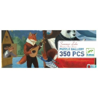 Puzzle  Djeco-07617 XXL Teile - Summer Lake