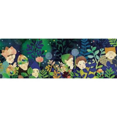 Puzzle  Djeco-07640 XXL Teile - Secrets