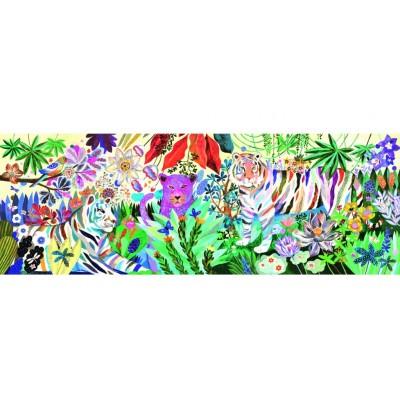 Puzzle  Djeco-07647 Rainbow Tigers