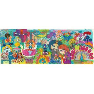 Puzzle  Djeco-07649 Magic India