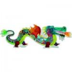 Djeco-DJ-07170 Riesiges Puzzle: Leon der Drache