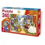 Puzzle  Deico-Games-61393 Der gestiefelte Kater
