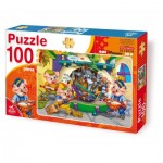 Puzzle  Deico-Games-61492 Die 3 kleinen Schweine