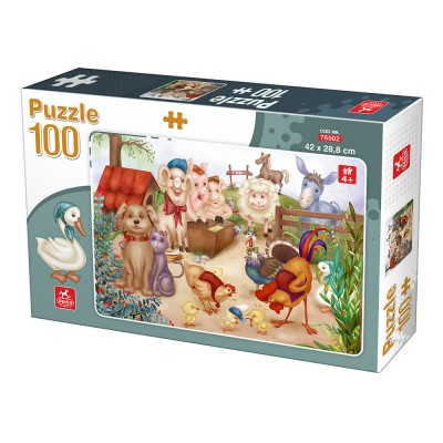 Puzzle  Deico-Games-76502 Nutztiere