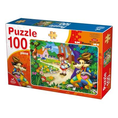 Puzzle  Deico-Games-76557 Rotkäppchen