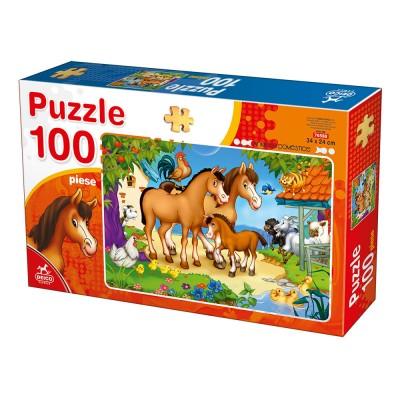 Puzzle Deico-Games-76588 Nutztiere