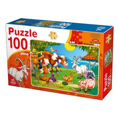 Puzzle  Deico-Games-76601 Nutztiere