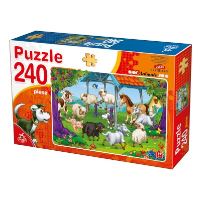 Puzzle  Deico-Games-76625 Nutztiere