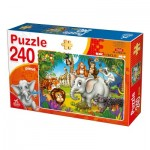 Puzzle  Deico-Games-76632 Wilde Tiere