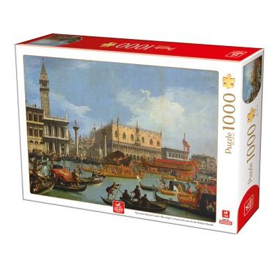 Puzzle Deico-Games-76687 Canaletto - Venedig