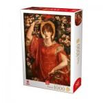 Puzzle  Deico-Games-76700 Dante Gabriel Rossetti - A Vision of Fiammetta