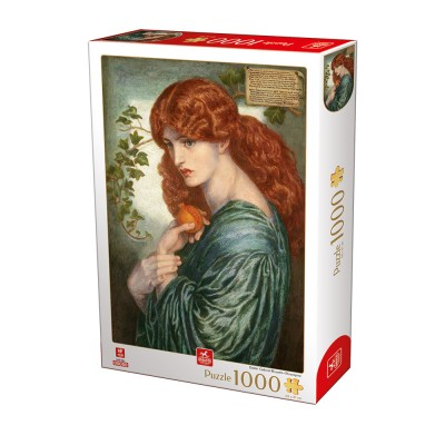 Puzzle  Deico-Games-76717 Dante Gabriel Rossetti - Proserpine
