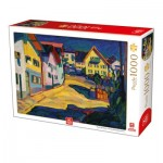 Puzzle  Deico-Games-76755 Kandinsky - Murnau Burggrabenstrasse