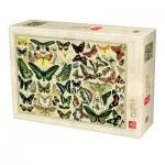Puzzle  Deico-Games-76786 Enzyklopädie Schmetterlinge