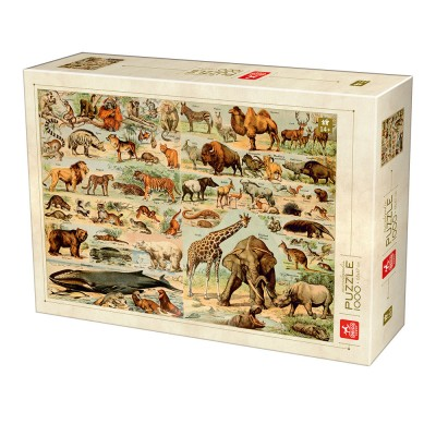 Puzzle  Deico-Games-76793 Enzyklopädie Wilde Tiere